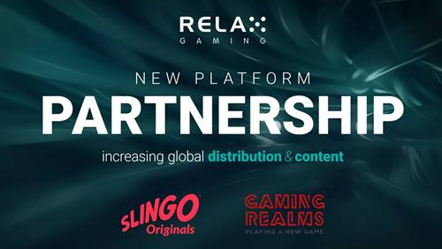 Relax Gaming extends platform-to-platform portfolio with Gaming Realms