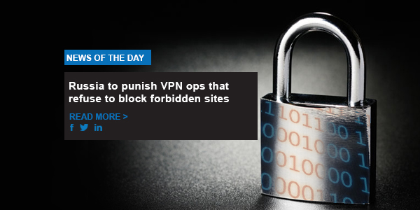 Russia to punish VPN ops that refuse to block forbidden sites