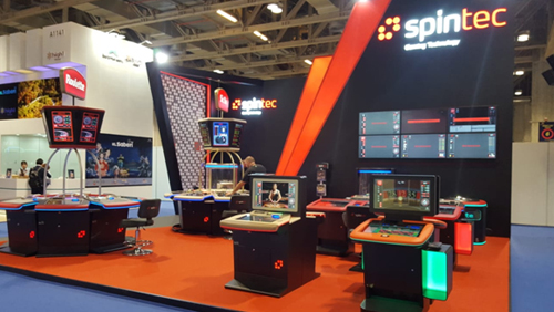 Spintec shines with ETG innovations at G2E Asia