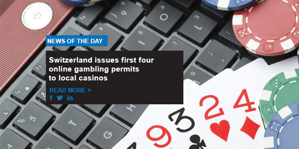 Switzerland issues first four online gambling permits to local casinos
