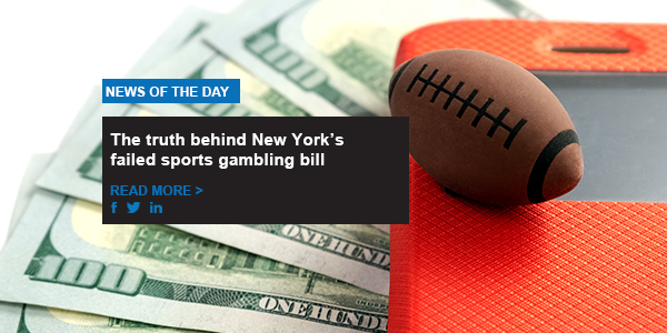 The truth behind New York's failed sports gambling bill