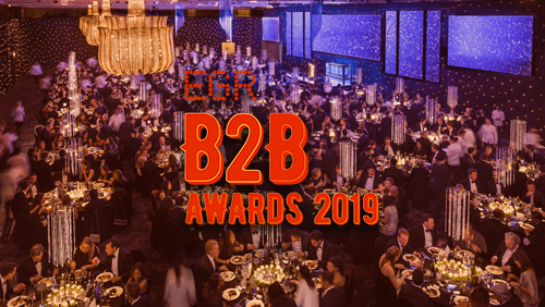Together Gaming winner at 2019 EGR B2B awards