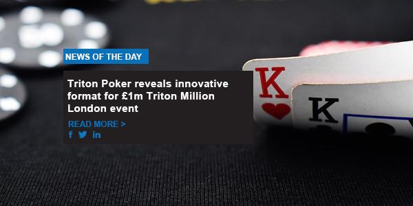 Triton Poker reveals innovative format for £1m Triton Million London event
