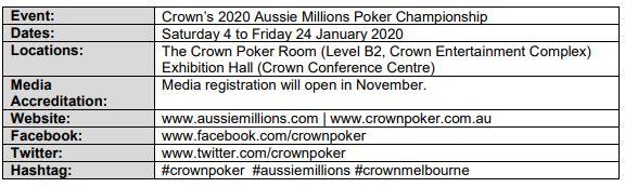 2020-aussie-millions-poker-championship-schedule-announcement2