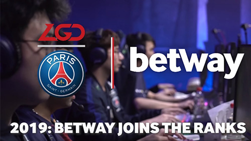 Betway and PSG.LGD seal six-figure sponsorship