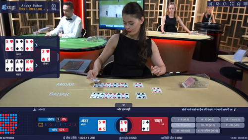 Ezugi enhances offering with Andar Bahar game and its Baccarat 3.0
