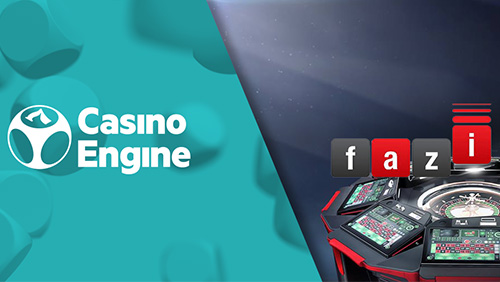 Fazi Interactive gaming portfolio available via CasinoEngine