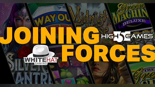 High 5 Games joins forces with White Hat Gaming