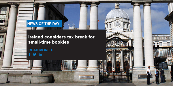 Ireland considers tax break for small-time bookies
