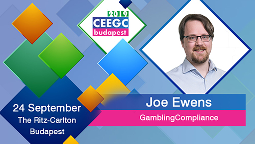 Joe Ewens to moderate the Balkan Gaming Industry Briefing at CEEGC 2019 Budapest
