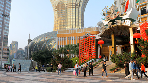 Macau visitation sees big jump in the first half of the year
