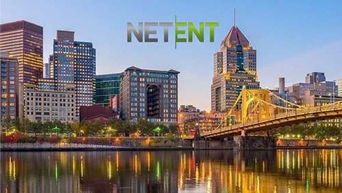 NetEnt games live in Pennsylvania, USA