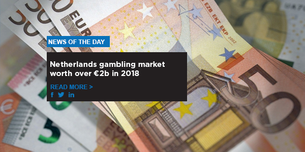 Netherlands gambling market worth over €2b in 2018