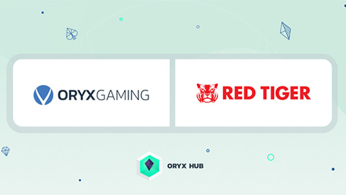 ORYX Gaming goes live with Red Tiger