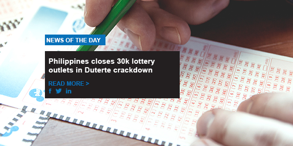 Philippines closes 30k lottery outlets in Duterte crackdown
