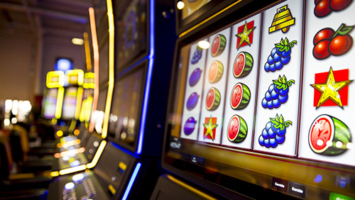 Quarters aren't the only thing dropping with Connecticut's slots