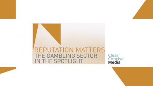 'Reputation Matters' conference to address future of the gambling sector