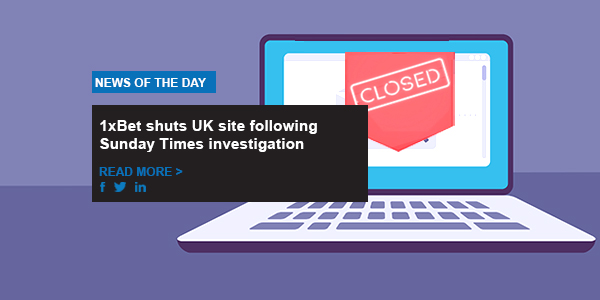 1xBet shuts UK site following Sunday Times investigation