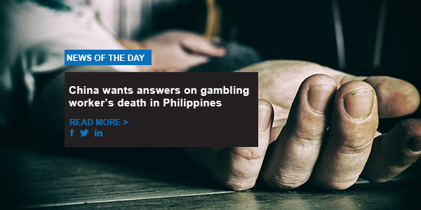 China wants answers on gambling worker's death in Philippines