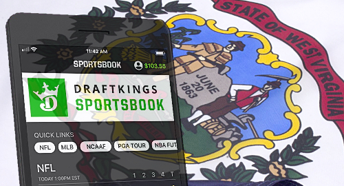 draftkings-west-virginia-sports-betting-mobile-app