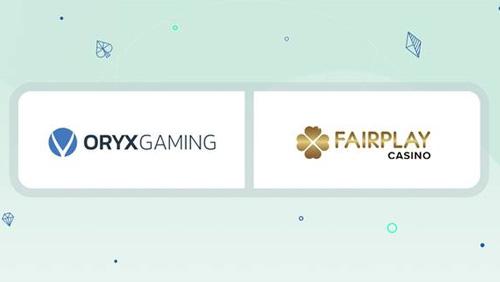 Fairplay live on ORYX Hub platform