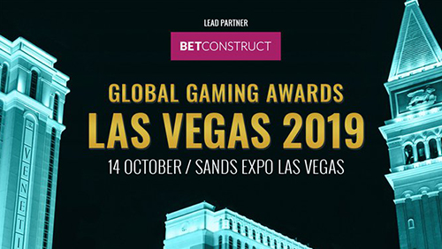 All sponsors revealed for Global Gaming Awards Las Vegas 2019
