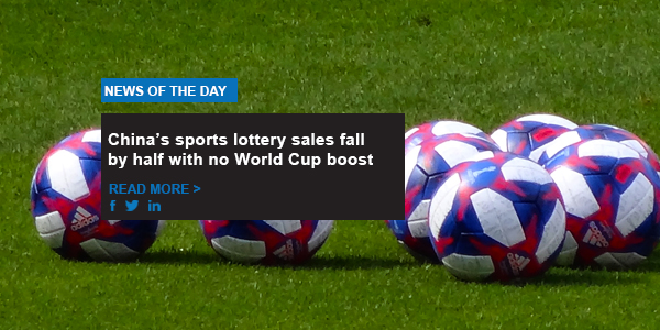 China's sports lottery sales fall by half with no World Cup boost