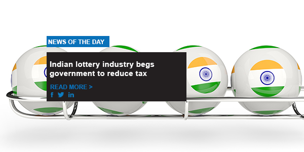 Indian lottery industry begs government to reduce tax
