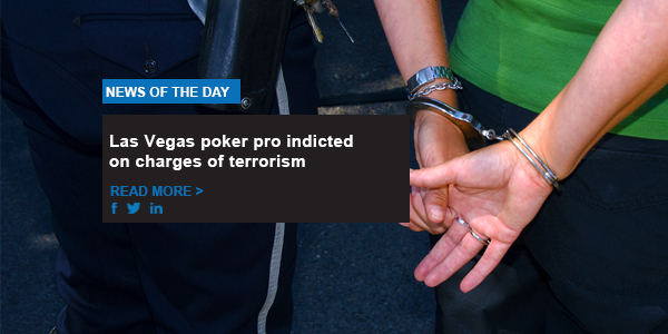 Las Vegas poker pro indicted on charges of terrorism