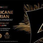 partypoker charity tournament will aid hurricane Dorian victims