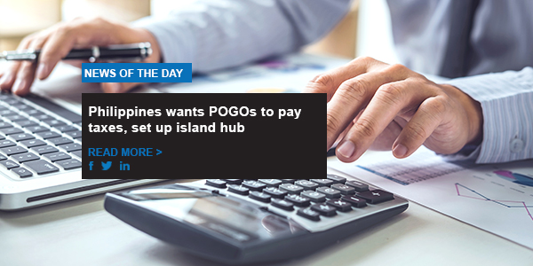 Philippines wants POGOs to pay taxes, set up island hub
