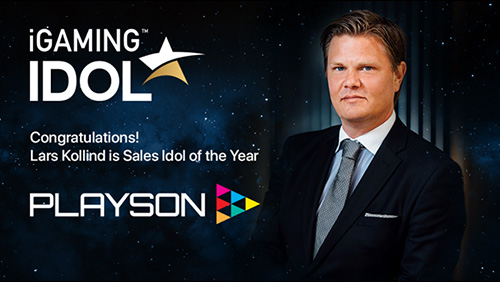 Playson's Lars Kollind wins Sales Idol of the Year at iGaming Idol 2019