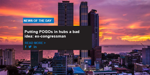 Putting POGOs in hubs a bad idea: ex-congressman