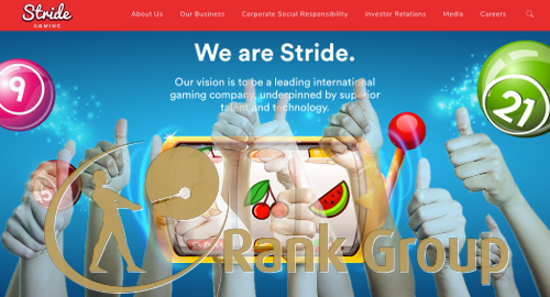 UK regulator okays Rank Group's acquisition of Stride Gaming