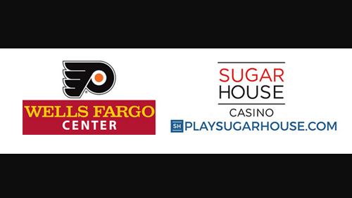 Sugarhouse Casino and PlaySugarHouse.com have become the official sportsbook partners for the Philadelphia Flyers and Wells Fargo Center