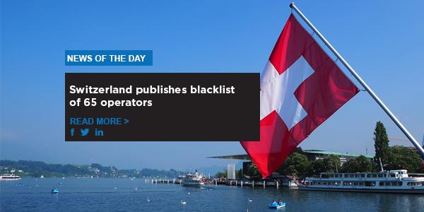 Switzerland publishes blacklist of 65 operators