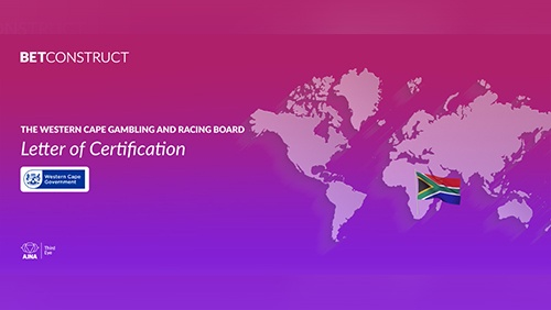 BetConstruct's Sportsbook set for launch with Gbets after certification in South Africa