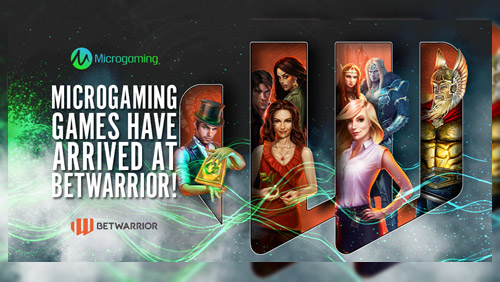 BetWarrior further expands content offering with Microgaming deal