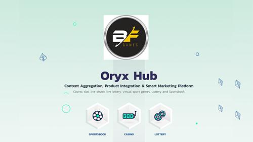 BF Games live on ORYX Hub