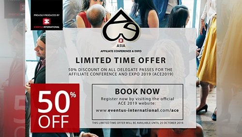 Book now and get a 50% discount to the first affiliate marketing expo in Manila