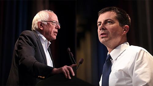 Democratic primary odds: Sanders, Buttigieg improve at Ohio debate