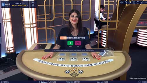 Ezugi powers up portfolio with Teen Patti and No Commission Baccarat releases