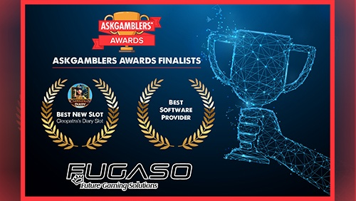 "Fugaso selected as finalists in two categories of ""the world's most prestigious casino awards""."