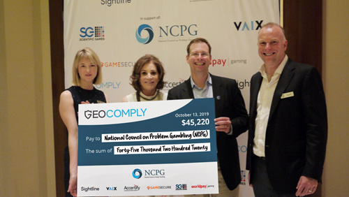 geocomply-industry-partners-and-guests-donate-over-45k-to-the-national-council-on-problem-gambling-at-g2e-fundraising-event