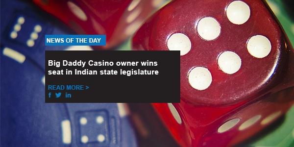 Big Daddy Casino owner wins seat in Indian state legislature