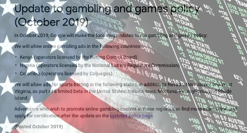 google-gambling-advertising-sports-betting-policy