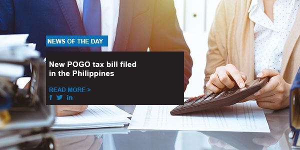 New POGO tax bill filed in the Philippines