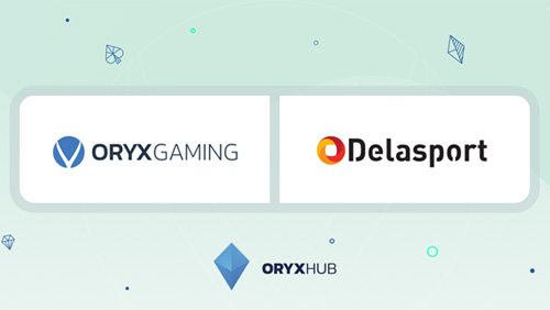 ORYX Gaming live with Delasport