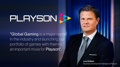 Playson extends international reach with Global Gaming agreement
