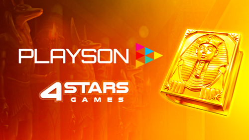 Playson goes live with 4starsgames